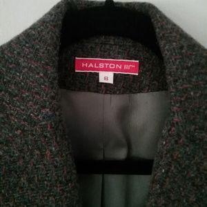 *Vintage* Halston fully lined wool Blazer